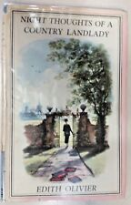 Night Thoughts of a country Landlady by Edith Olivier (Hardcover, 1943)