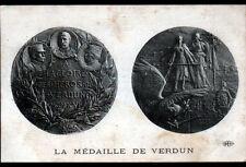 VERDUN (55) MEDAILLE aux HEROS de VERDUN en 1918