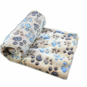 Pet Dog Cat Rest Blanket Bed Pad Cover Puppy Fleece Soft Warm Sleep Bed Cushion
