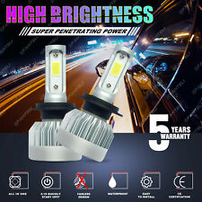 H7 1855W 278250LM CREE LED Headlight Kit High or Low Beam Bulb 6000K White Power