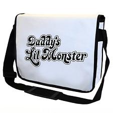 Daddy's Lil Monster | Insp. d. Suicide Squad | Umhängetasche | Messenger Bag