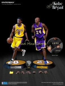 New KOBE BRYANT Los Angeles Lakers ENTERBAY NBA 1:6 Scale Action Figure - RM1065