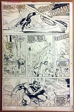 X-FACTOR #35 page 3 Original Art Terry Shoemaker Beast Iceman 1988