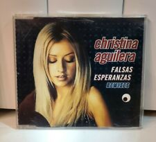 Christina Aguilera EXTREMELY RARE IMPORT CD Single - Falsas Esperanzas Remixes
