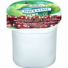 Hormel Drink Thick & Easy Cranberry Juice (Nectar Consistency), 4-Ounce Portion
