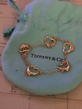 Tiffany & Co Elsa peretti 18ct  Yellow Gold Bracelet