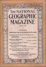 National Geographic Magazine April 1926 Marvels of Mycetozoa 020617DBE2