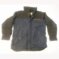 POLO Jeans Ralph Lauren Men Size M Winter Jacket Hood 2-way zipper Fleece Lining