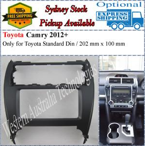 Fascia facia Fits Toyota Camry 2012+ Double Two 2 DIN Dash Kit