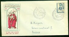 NETHERLANDS #365 10¢ St. Boniface Official FDC, VF NVPH $65.00