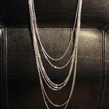 Lady Womens Multi-layer Long Pendant Necklace Sweater Chain