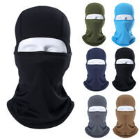 Windproof Motorcycle Balaclava Face Mask Cycling Ski Under Helmet Neck Warmer CS