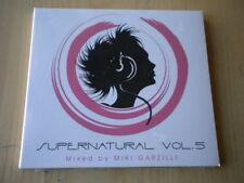 Supernatural vol. 5 mixed by Miki Garzilli CD musica dance elektro house 15 trk