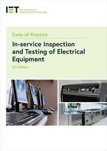 Code of Practice for In-service Inspection and Testing Paperback 5th Latest ed