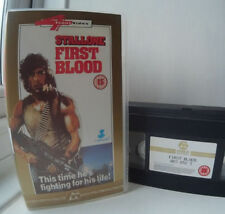 Action & Adventure PAL VHS Films First Blood