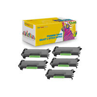 5-Pack Compatible TN880 Toner Cartridge for Brother DCP-L5500DN DCP-L5600DN
