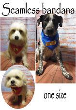 "NEW Seamless Woofenwag Tube Bandana "" Assistance dog """