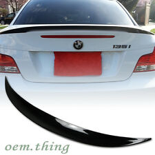 135i 128i PAINTED ABS BMW E82 Performance TYPE REAR TRUNK SPOILER 1-Series