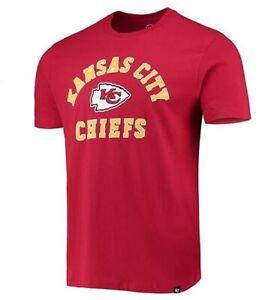 Kansas City Chiefs Men's '47 Brand Arch Super Rival T-Shirt - Red