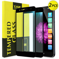 [2 Pcs] For LG X Charge/Power 2/Fiesta LTE Cover Tempered Glass Screen Protector