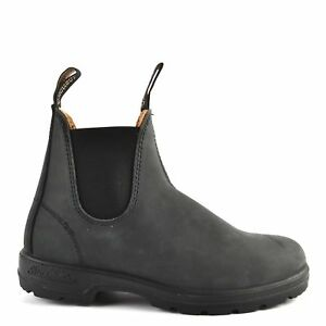 NEW Blundstone Style 587 Rustic Black Leather Boots for Men