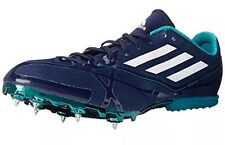 NWB $140 Adidas Mens Adizero MD 2 Navy Running Shoes Athletic 15 Medium (D)