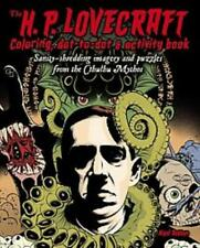 THE H. P. LOVECRAFT COLORING, DOT-TO-DOT, & ACTIVITY BOOK - DOBBYN, NIGEL (ILT)