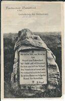 Ansichtskarte Westerland/Sylt - Gedenkstein der Heimatlosen - 1912 -schwarz/weiß