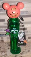 Disney Parks 2019 Mickey Mouse Pumpkin Not So Scary Halloween Glow Spinner ~ NWT