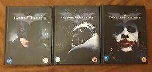The Dark Knight Triology - Limited 4k Digibook Editionen    RAR & OOP
