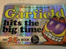 Vintage Garfield~Hits the Big Time~His 25th Book~1993~Jim Davis~1st Copy~Silver