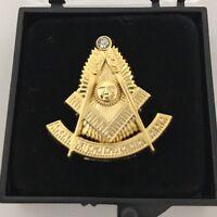 Freemason Masonic Past Master Lapel Pin