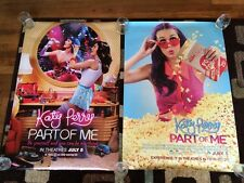 Katy Perry Part Of Me Original Movie Poster 27x40 Double Sided Lot Of 2 2012