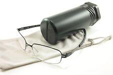 IC! Berlin Eyeglasses Frame Gunther Black Stainless Steel Germany 50-17-130, 30