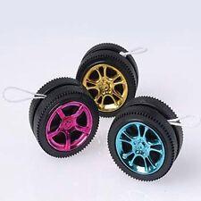 12 Racing Race Car Wheel Tire Yo-Yo Nascar Party Goody Loot Bag Toy Favor Supply