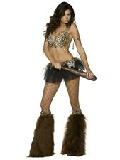 Sexy Cave Babe Costume Tutu Cave Girl Large 32737 - Ladies Fancy Dress