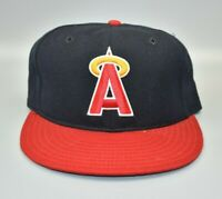 California Angels Anaheim New Era 59FIFTY Vintage Fitted Cap Hat - Size: 7