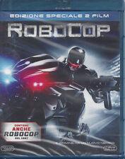 2 Blu-ray **ROBOCOP** Edizione speciale 2 dischi nuovo 1987 - 2014