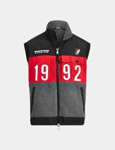 Polo Ralph Lauren 1992 Winter Stadium Hybrid Vest Gilet P Wing - Size Medium M