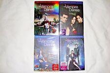 The Vampire Diaries Seasons 1-4, 1 2 3 4, Dvd, CWTV, New & Sealed w/Slipcovers!