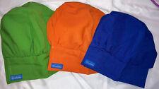 Three Chefskin Toddler Chef Hats Adjustable Fits 10� Flat Width