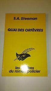 Stanislas-André Steeman - Quai des Orfèvres