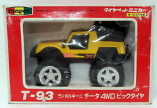 Diapet Models 1/38 Scale 01853 - T-93 Lamborghini Cheetah 4WD Big Tyre - Yellow