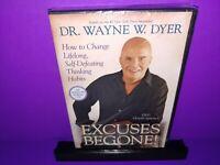 Dr. Wayne W. Dyer Excuses Begone! DVD Brand New B389/B476