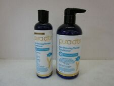 2 PURA D'OR HAIR THINNING THERAPY CONDITIONER 8 & 16 FL OZ MM 16882