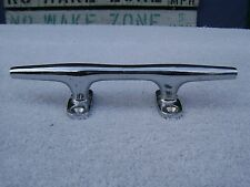 6+9/16 Inch Chrome Over Bronze Boat Cleat Dock (D2A594)