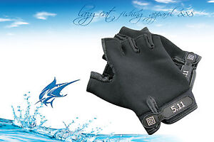 Professional fingerless fishing gloves jigging fishing rock fishing glove