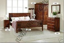 Bedroom Set -  Queen Double Bed , Wardrobe , Bed side , Dresser, mirror frame !