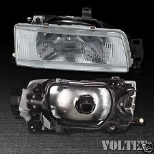 1988-1992 Toyota Corolla Headlight Lamp Clear lens Halogen Passenger Right Side