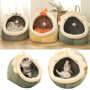 Lounger Cushion Washable Pet Supplies Cat Beds Blanket Pad Kennel Cat Warm Bed